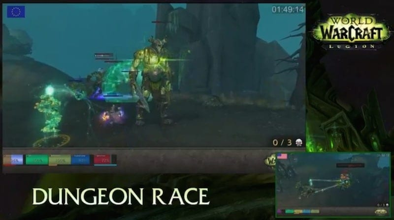 Legion Dungeon Race