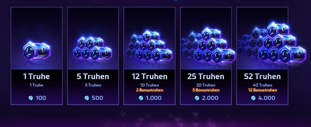 Heroes of the Storm 2.0 Lootbox