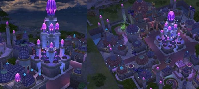 WoW Dalaran in Die Sims 4