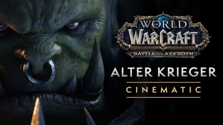 Battle for Azeroth Cinematic: Bricht der Krieg den alten Krieger Varok Saurfang?