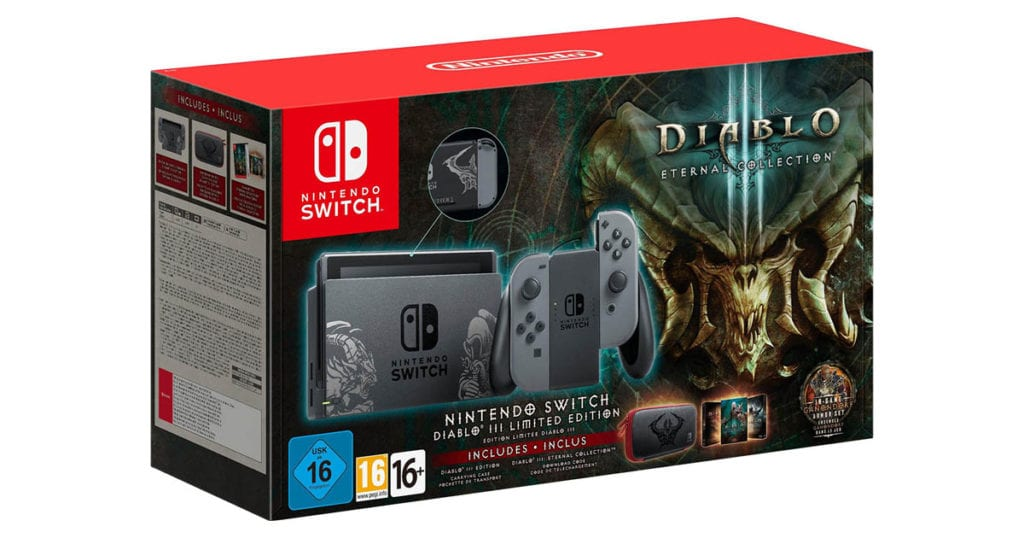 Nintendo Switch Diablo 3 Edition