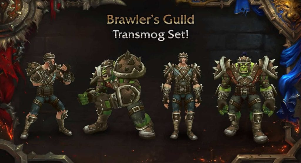 WoW Patch 8.1.5 Kampfgilde Transmogsets