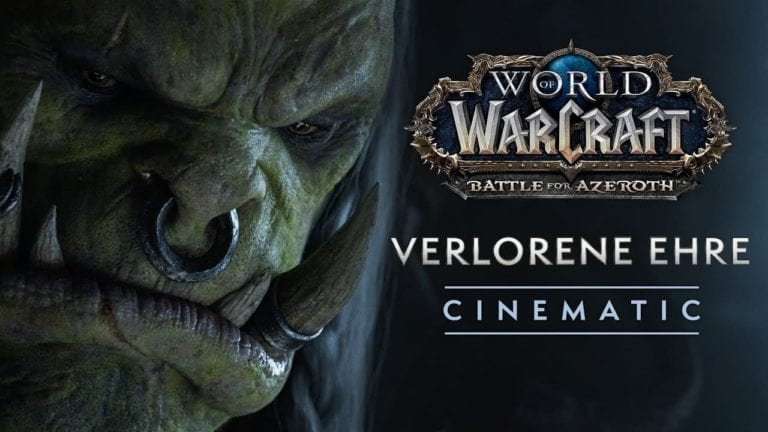 World of Warcraft Patch 8.1:  Seht hier den Cinematic Verlorene Ehre