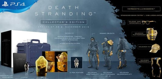 Death Stranding Collectors Edition