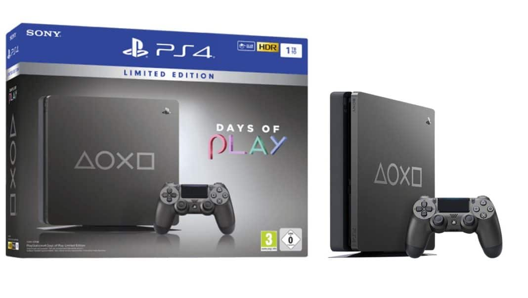 PS4 Days of Play Limited Edition
