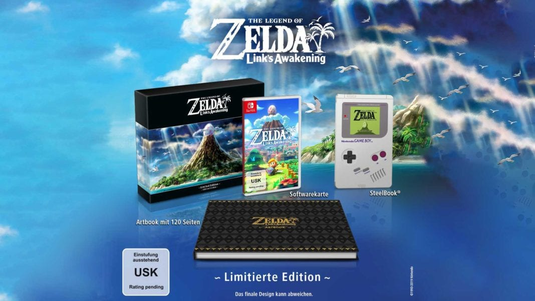 The Legend of Zelda: Link's Awakening Limited Edition vorbestellen