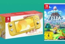 Nintendo Switch Lite Bundle mit Zelda: Link's Awakening