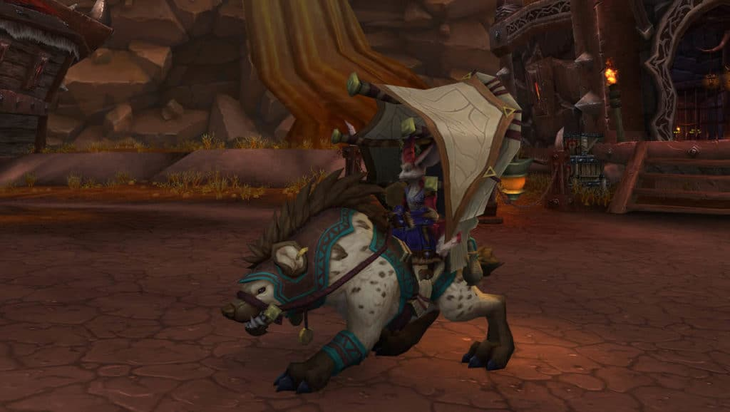 WoW Patch 8.3 - Vulpera Mount