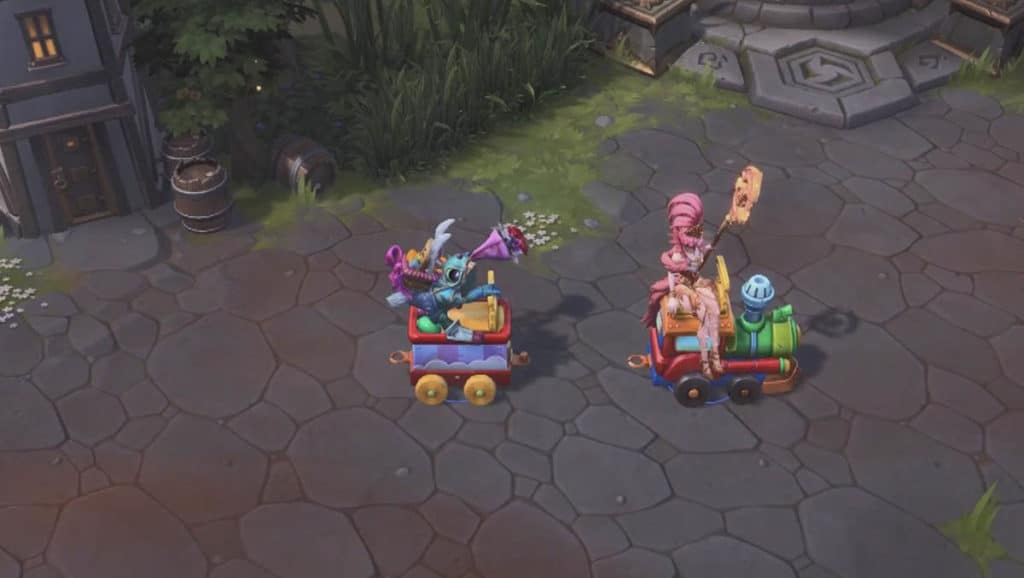 Heroes of the Storm Train Mount