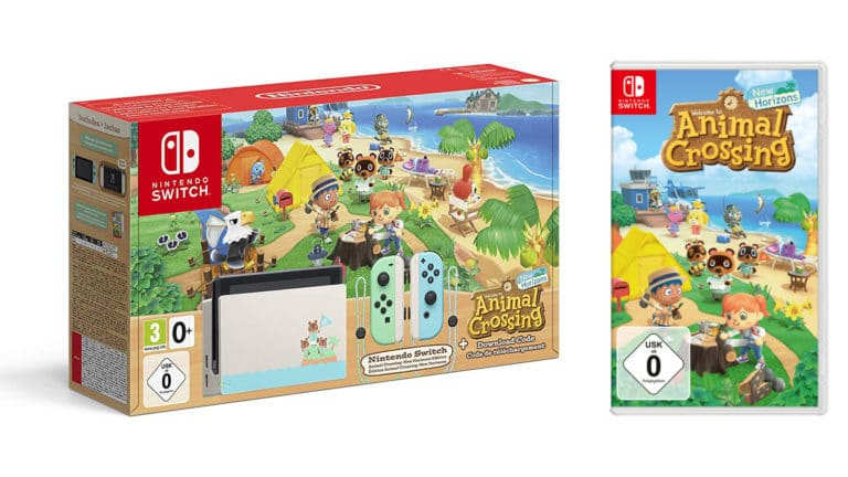 Jetzt Animal Crossing Nintendo Switch Bundle vorbestellen