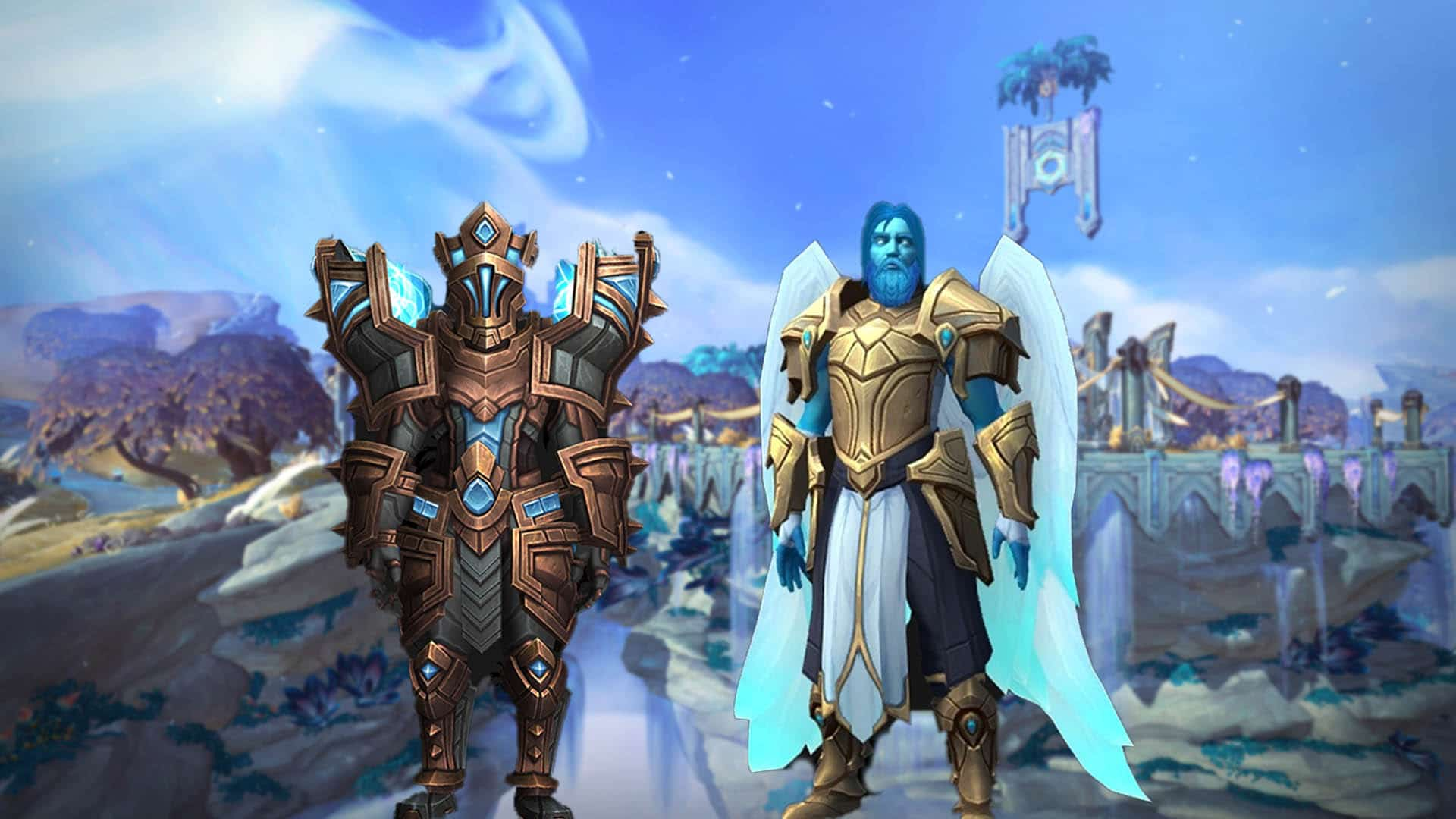 WoW Shadowlands Alpha: Charaktere, Modelle, Mounts & Sets