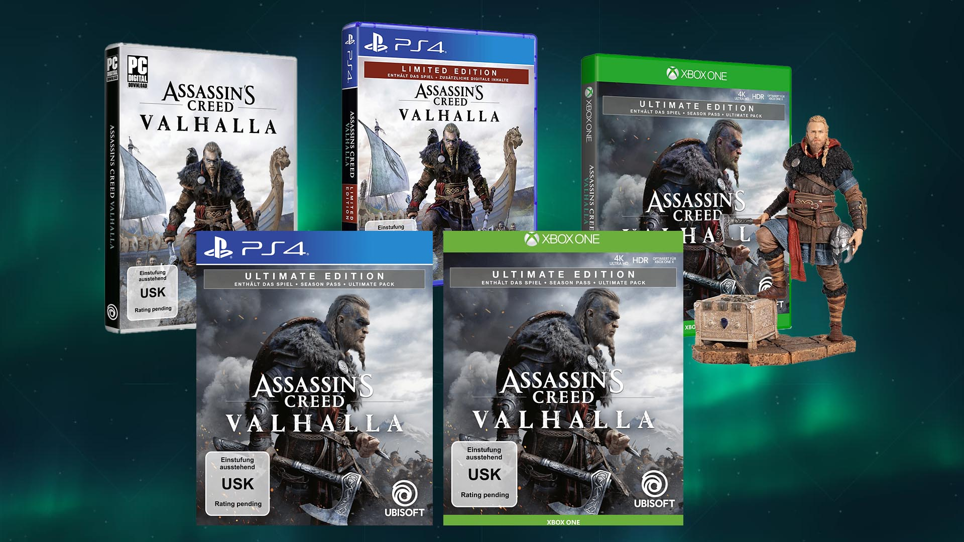 assassins creed valhalla ps4 ultimate edition