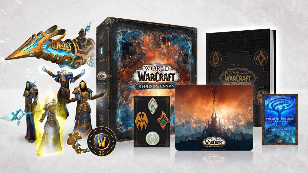 Die WoW Shadowlands Collector's Edition.