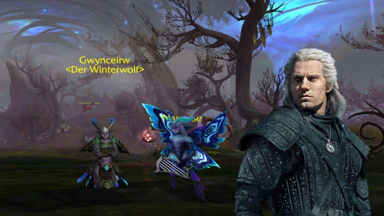 WoW Shadowlands: The Witcher Easter Egg in Ardenwald