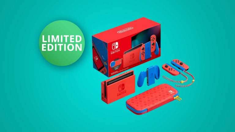 Jetzt vorbestellen: Nintendo Switch Mario Red & Blue Edition