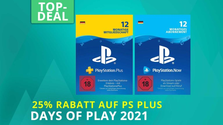 Days of Play 2021 Angebote: 12 Monate PS Plus & PS Now ab 42,74 Euro